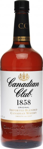 Canadian Club Blended Whiskey 0,7l