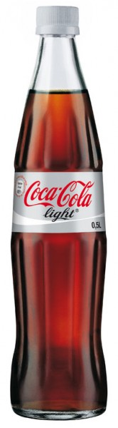 Coca Cola Light Taste 20x0,5l Glas